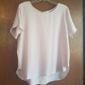 Pink lightweight top